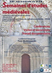 A flyer presents the conference, detailing the great international presence among the speakers.