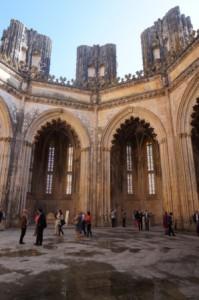 """""""capelas imperfeitas"""", monastère de Batalha (cliché M. Ferrari)"""