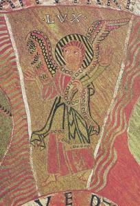 Tapisserie de la création de Gérone (cathédrale), fin XIe début XIIe s.