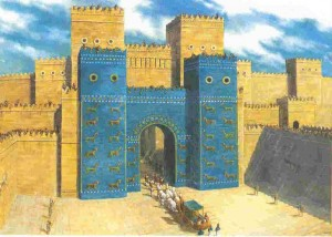 reconstitution d'un palais babylonien