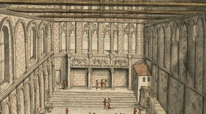 [30 avril] Journée d'études – La grande salle et ses abords : contribution à l'étude des résidences palatiales et élitaires (XIe-XVIe s.)