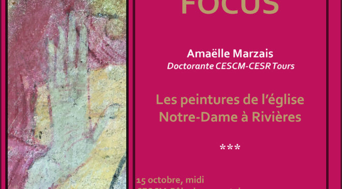 [15 oct.] Focus n° 1 : les peintures de l'église Notre-Dame à Rizières