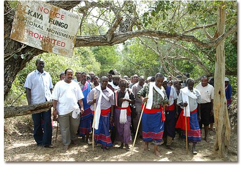 Cérémonie Unesco Kaya Fungo