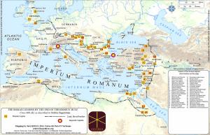 Figure 3: Roman legions c. 400 AD