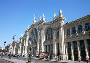 Figure 1: The main façade of the Gare du Nord, Paris.