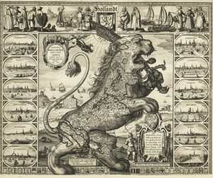 Figure 3: The original Leo Hollandicus of 1622.