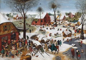 FIGURE 1. Pieter Bruegel the Younger, The Census at Bethlehem, 1605-1610