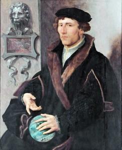 FIGURE 2. Gemma Frisius by Maarten van Heemskerck, c.1540