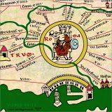 Rome, detail from Tabula Peutingeriana, tabula-peutingeriana.de