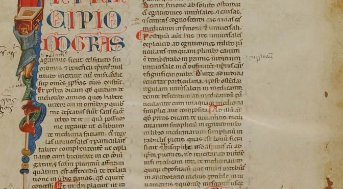 Transmettre les textes médicaux grecs: traductions, recueils, image
