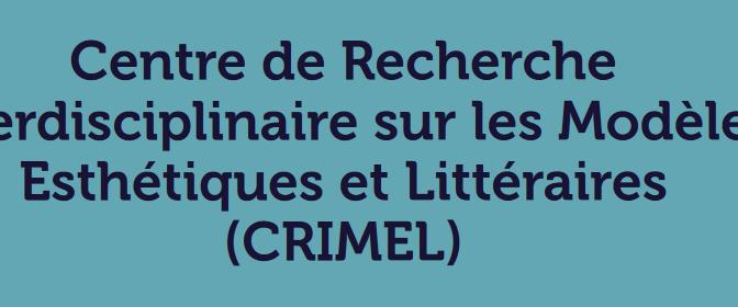 Archives ouvertes du crimel sur le site de l'URCA