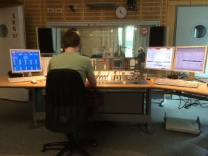 Das WDR5-Studio