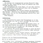 Anleitung von 1953 zur Durchführung und Auswertung  der psychologischen Untersuchungen