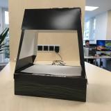 Der BarCode hilft die Box wiederzufinden.