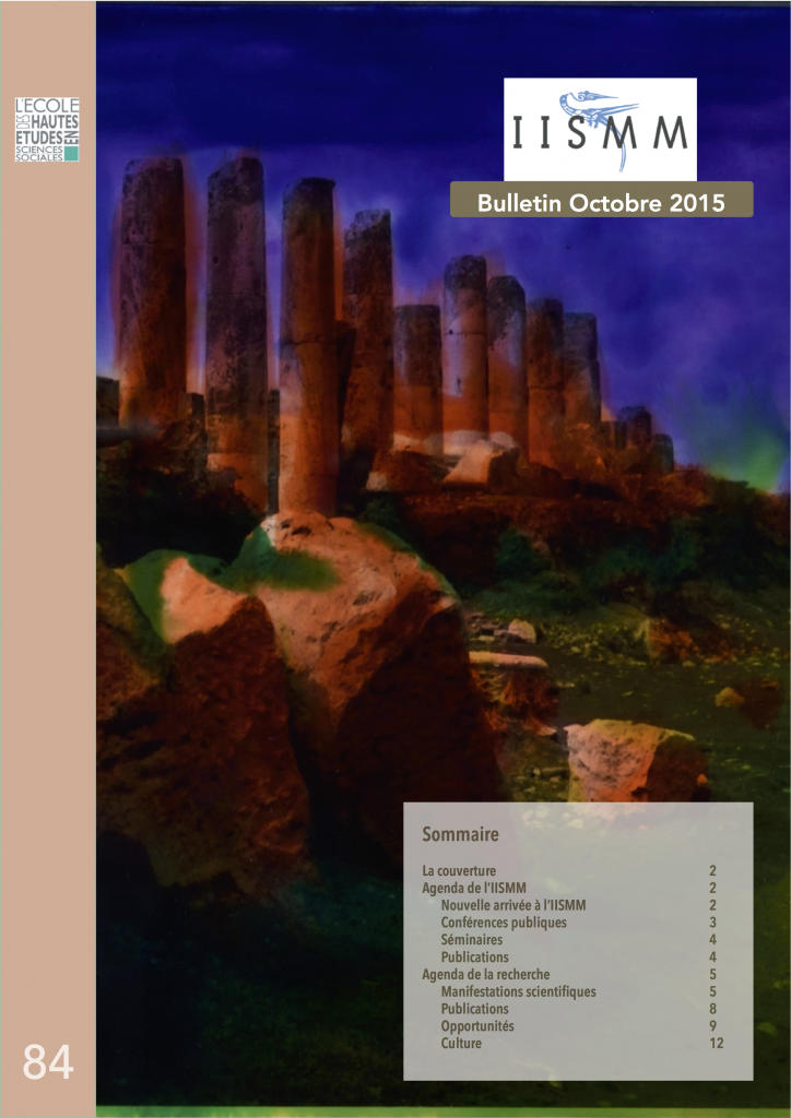 couv Bulletin 84 octobre 2015