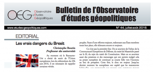 couverture bulletin 44 oeg