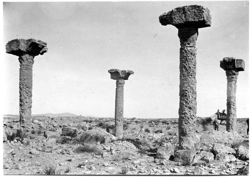106, 101, 02, 01.  Basilique chrétienne de Thelepte, dite  « des quatre piliers »