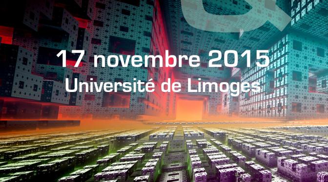 """Programme de la journée d'étude """"Genres littéraires et fictions médiatiques"""" (17 novembre 2015)"""