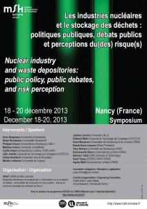 Symposium IDREP, Nancy, 18-20 décembre 2014