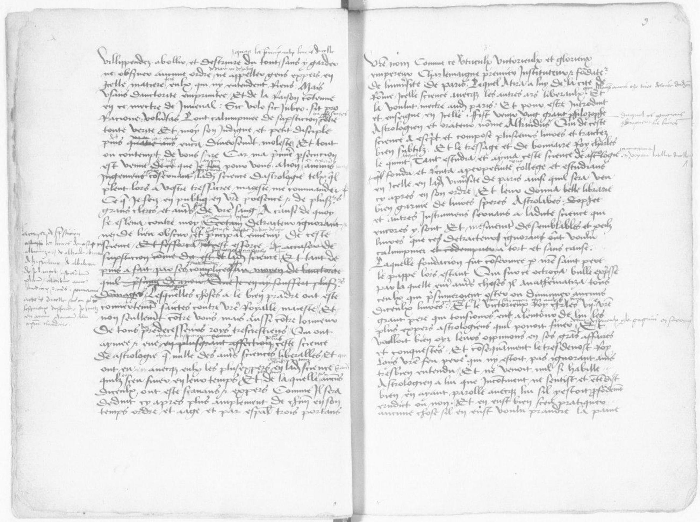 Recueil des plus célèbres astrologues et quelques hommes doctes, fait par Symon de Phares, du temps de Charles VIII