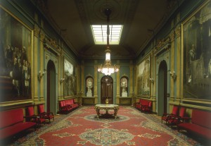 Sala de los Pasos Perdidos del Palacio del Senado