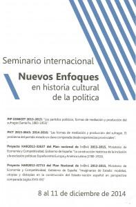 Cartel Seminario Rosario 2014