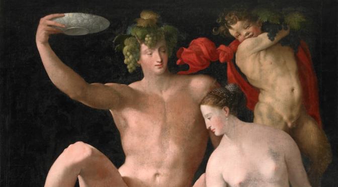 « Sans Bacchus et Vénus, la Galerie se refroidit » : dispositif libérant le programme de l'intégralité du décor de la Galerie du Roi de Fontainebleau