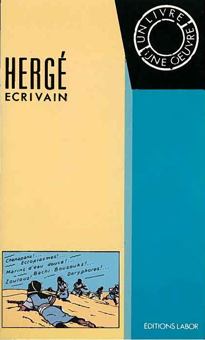 JanBaetens_Herge-ecrivain-1990