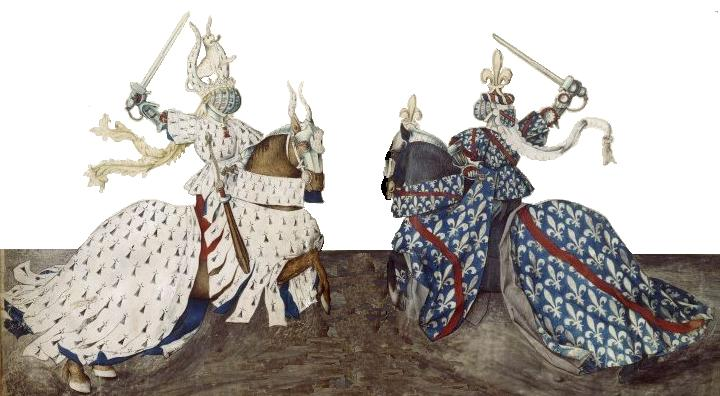 De_hertogen_van_Bourbon_en_Bretagne_in_tweegevecht_tijdens_een_toernooi
