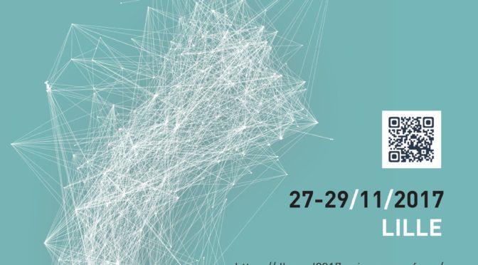 DH Nord 2017 – (Dé)construire l'histoire numérique, 27-29 nov. Lille