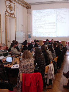 Training School am IRHT (Foto: Hanno Wijsman)