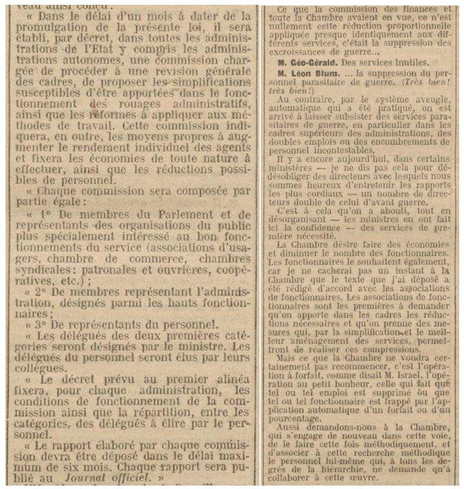 Léon Blum, inventeur d'une RGPP de gauche ?