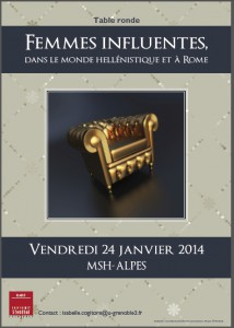 affiche table ronde Grenoble