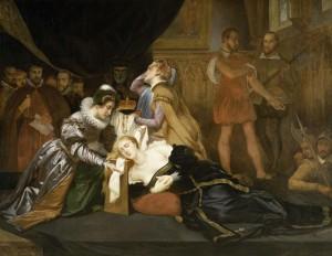 Execution of Mary Queen of Scots, by Abel de Pujol Alexandre-Denis, Musée de Valenciennes, 19th c.