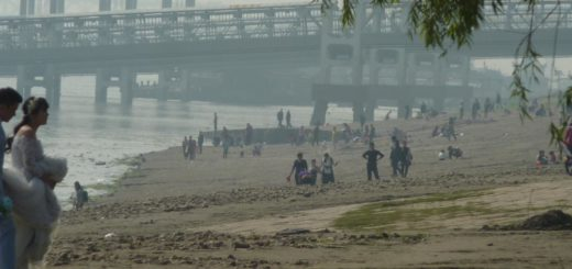 Rives du fleuve Yangzi à Wuhan © DR (Françoise Ged)