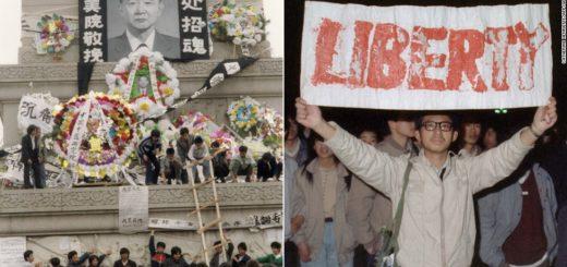 CNN Library. 1989 Tiananmen Square crackdown