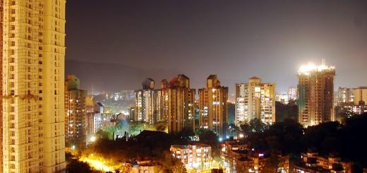 Bombay at night