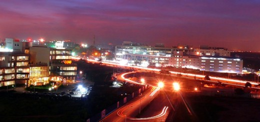 view of outer ring road, Bangalore (Photo: bharatte CC BY 2.0)