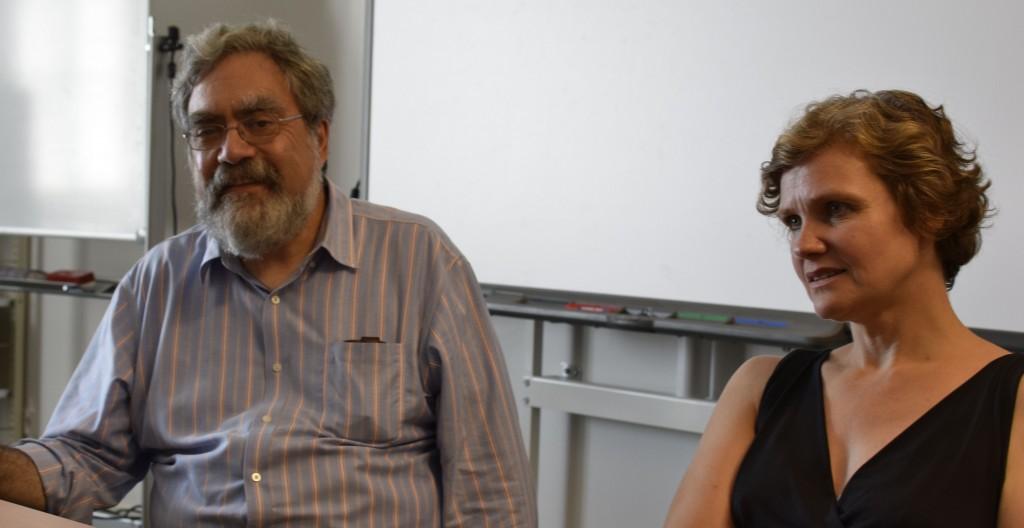 Anthony Grafton and Constanze Güthenke Photo: Forum Transregionale Studien under CC BY-SA 4.0