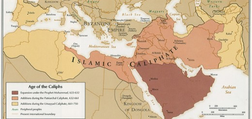 Age of the Caliphs (Foto: Norman B. Leventhal Map Center unter CC BY 2.0)