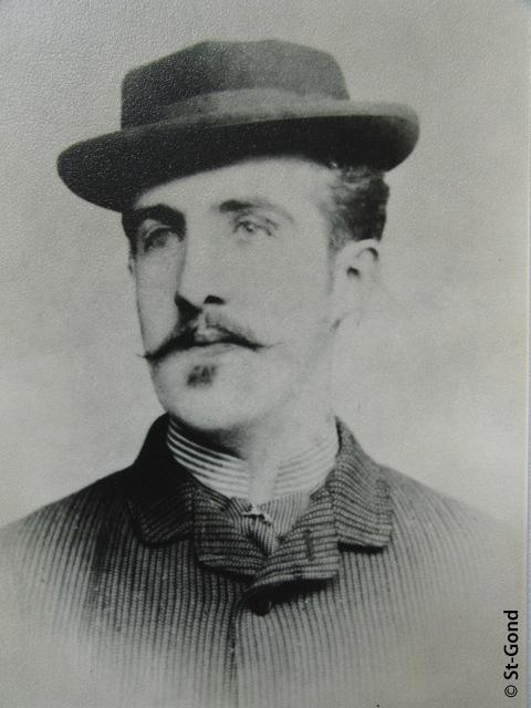 Copie des archives du Musée d'Épernay d'une photo en collection privée