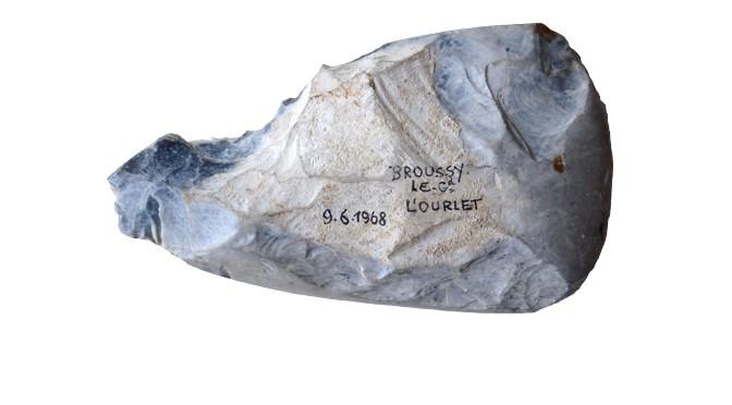 Le site de Broussy-le-Grand «L'Ourlet» (Marne). Étude lithique