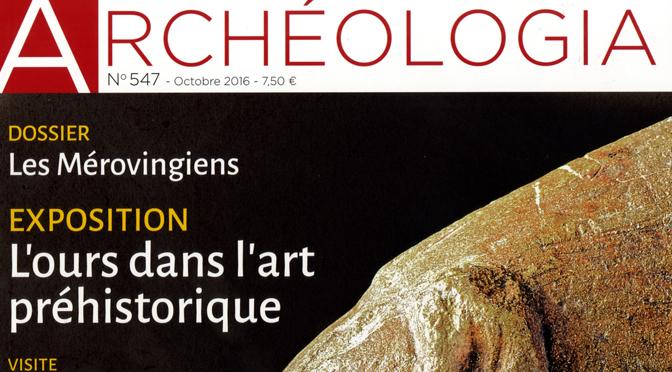 Archéologia (n°547, octobre 2016)