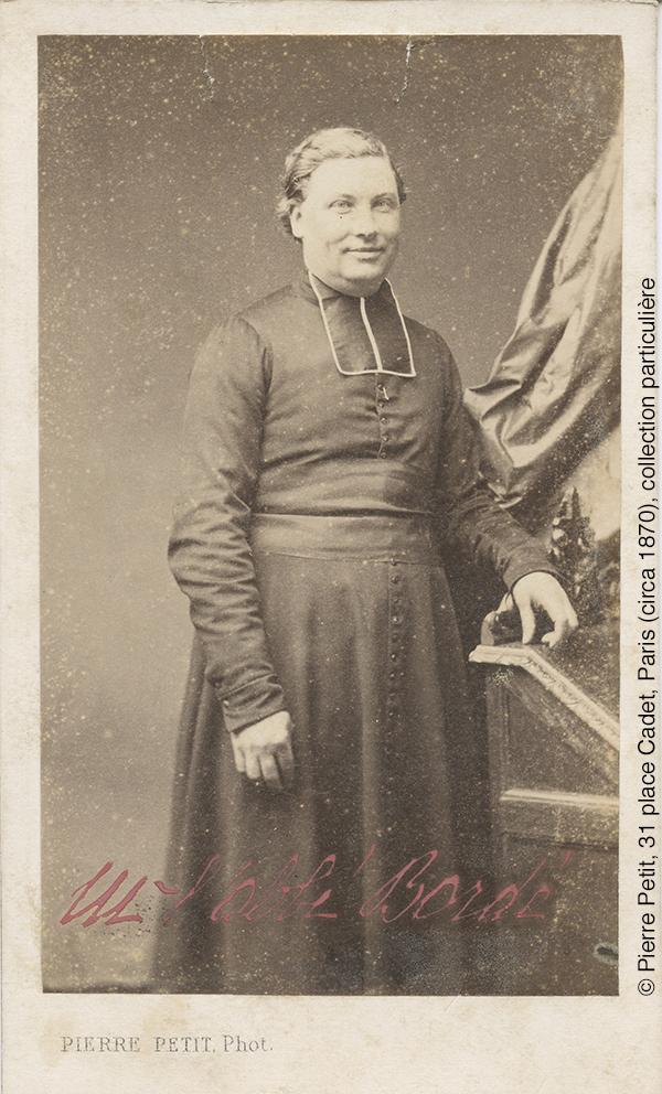 Portrait d'Alphonse Bordé © Pierre Petit, 31 place Cadet, Paris (circa 1870) Collection particulière.