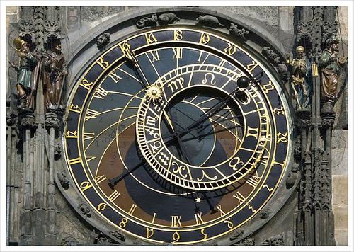 Astronomical Clock (Astronomical Dial), Prague, Czech Republic, Grufnik - Flickr