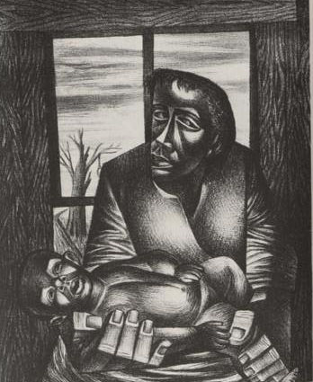 Charles White, Hope for the Future 1947