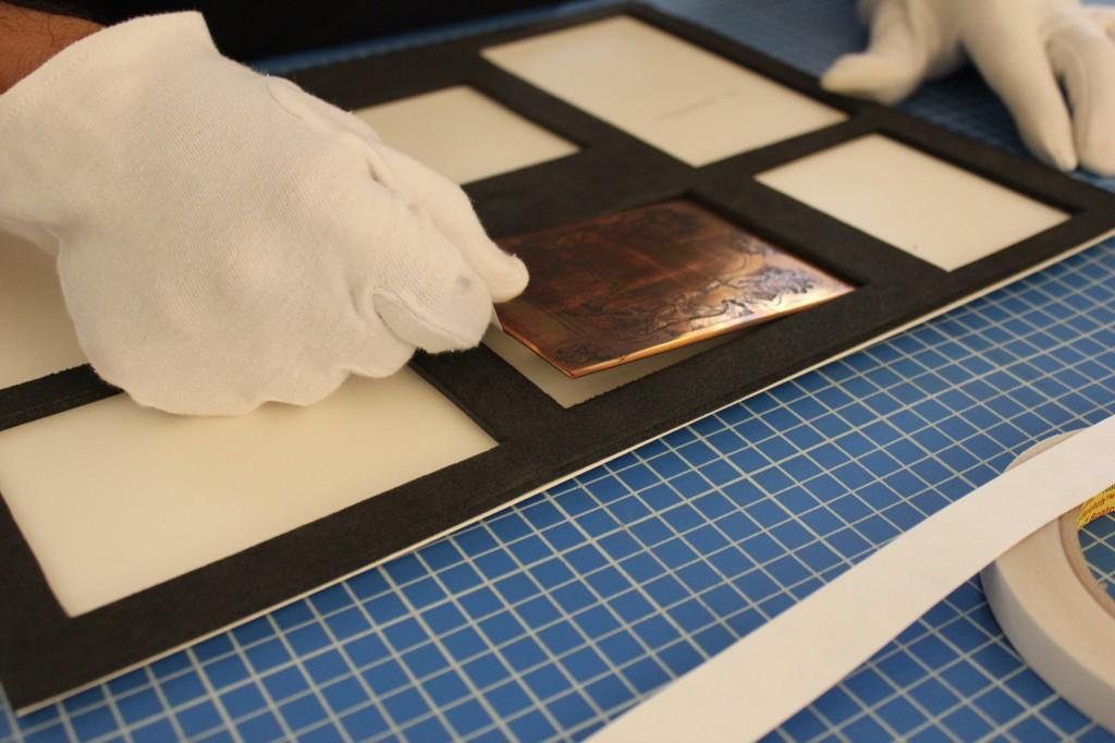 Conditionnement des plaque de cuivre