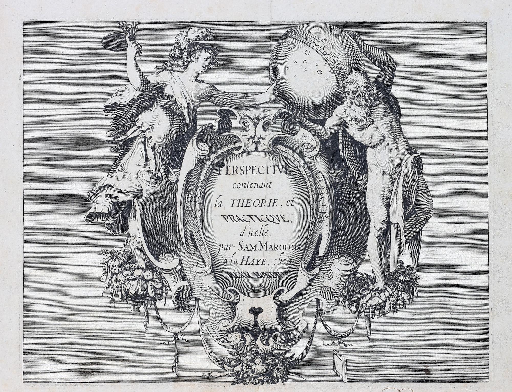 Perspective contenant la théorie et pratique d'icelle, Samuel Marolois