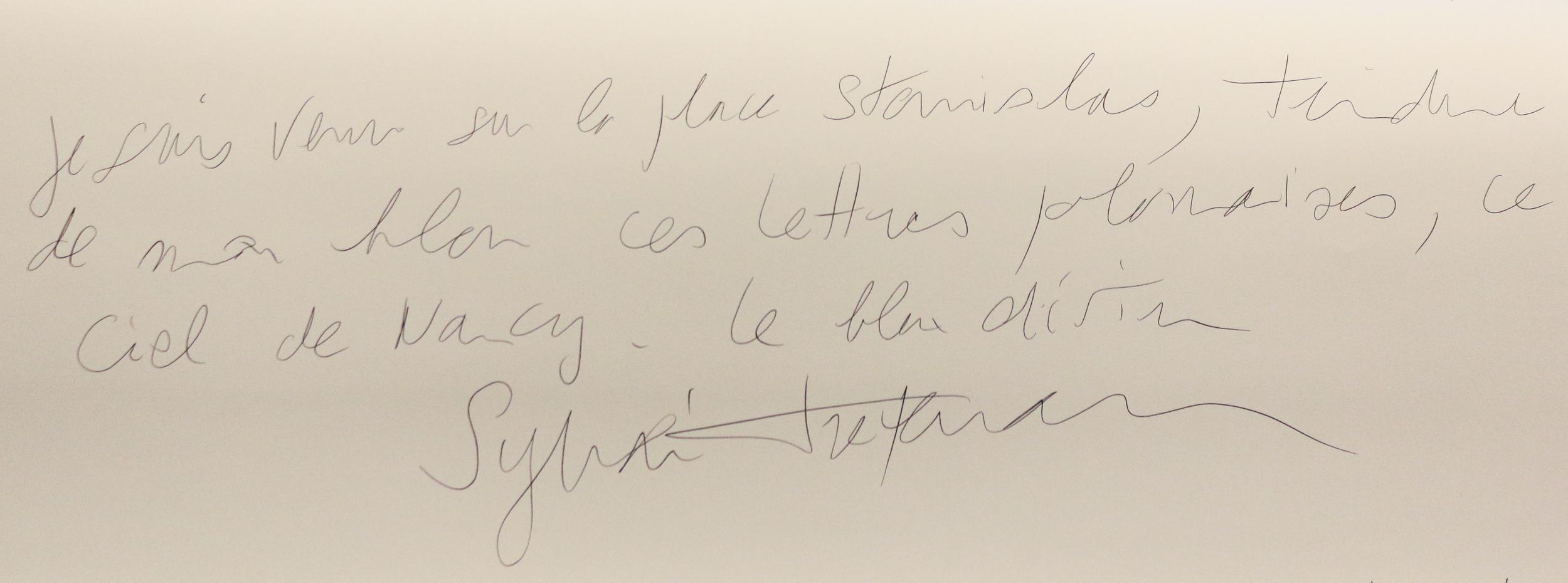 Sylvain Treperman. Le cadavre exquis