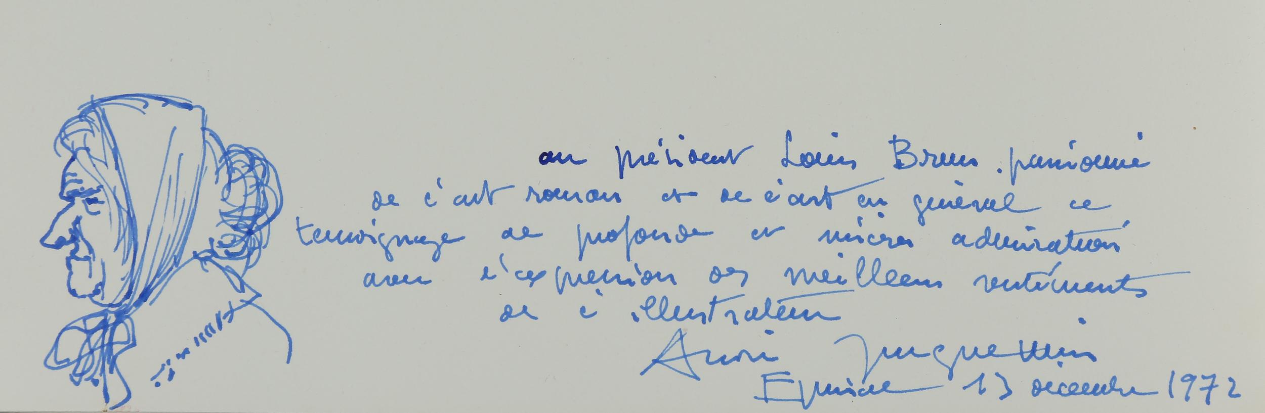 Ex-dono de André Jacquemin
